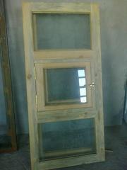 Продам 2 деревянных окна,  цена договорная